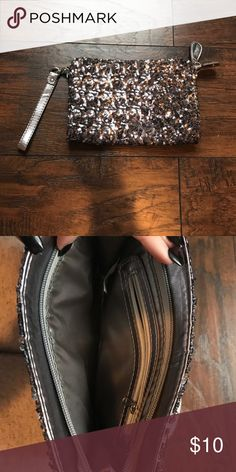 NWOT!! Sequin clutch from Bakers Matching shoes in other listing! Can be sold together or separate. Clutch has never been used and can fit everything in it! Bakers Bags Clutches & Wristlets