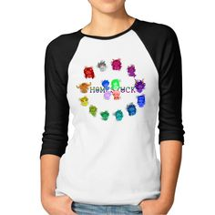 Homestuck Hivebent Webcomic Womens 3/4-Sleeve Raglan Tee Shirt -- Awesome products selected by Anna Churchill