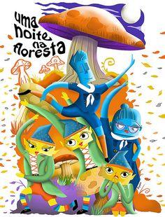 Ilustração para Poster de Festival de Dança