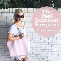 Splurge or steal? We've got the best summer bargains on the blog today!