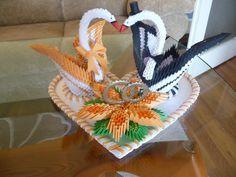 JPG… – Album – kaleia – Page 3859 – Origami Art 3d Origami Swan, Origami Yoda, Origami Mouse, Origami Fish, Origami Dragon, Paper Crafts Origami, Origami Stars, 3d Templates, Origami Wedding