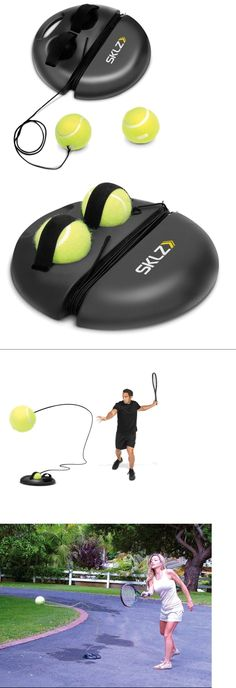Training Aids 83053: Sports Equipment For Kids Tennis Lessons Ball Machine Partner Gifts For Players -> BUY IT NOW ONLY: $37 on eBay!