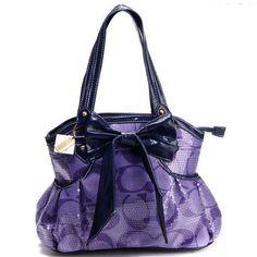 Purple Coach Handbag :)