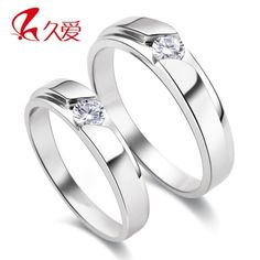 925 sterling silver rings for men rings couple rings couple female Korean version of the influx of people ring Valentine's Day Gift
