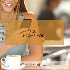 P.S. I #love you. www.atlasdenunta.ro Love You, Movies, Movie Posters, Te Amo, Je T'aime, Films, Film Poster, Cinema, I Love You