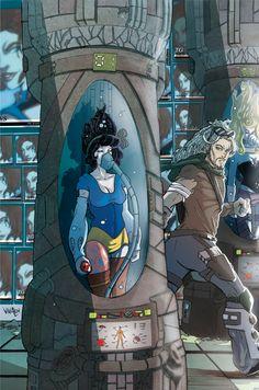 Cover Biancaneve Cyberpunk n.1 de Le Neurofiabe (edito da Cronaca di Topolinia) #cyberpunk