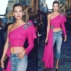 Runway Fashion, High Fashion, Fashion Show, Fashion Outfits, Paris Fashion, Moschino, Couture, Denim, Stylish