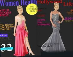 Magazin Covers, Strapless Dress Formal, Formal Dresses, Cate Blanchett, Your Girl, Hair Cuts, Tops, Fashion, Haircuts