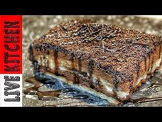 Greek Sweets, Greek Recipes, Kitchen Living, Bakery, Food And Drink, Pork, Chocolate, Eat, Cooking