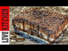 Εύκολο γλυκό στο λεπτό με 4 Υλικά (Εύκολες συνταγές) Oreo Cake Recipe - Live Kitchen - YouTube Greek Sweets, Greek Recipes, Kitchen Living, Bakery, Food And Drink, Pork, Chocolate, Eat, Cooking