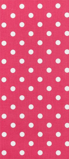 Premier Prints Polka Dot Candy Pink/White Fabric  $9.98 per yard Dots Candy, Pink Candy, Premier Prints, White Fabrics, Fabric Decor, Bright Colors, Pink White, Polka Dots, Yard