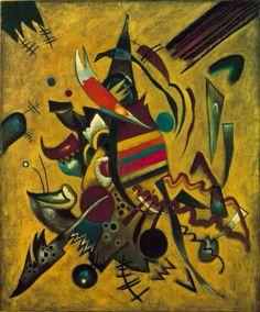 Wassily Kandinsky, Points, 1920 on ArtStack #wassily-kandinsky-vasilii-vasil-ievich-kandinskii #art