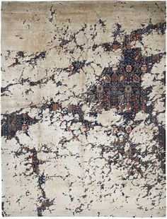 'Tabriz Canal Aerial' from the Erased Heritage Collection by Jan Kath Design professionals are always looking for the new and exciting in products, services and vendors. Beige Carpet, Diy Carpet, Patterned Carpet, Modern Carpet, Modern Rugs, Rugs On Carpet, Cheap Carpet, Jan Kath, Classical Elements