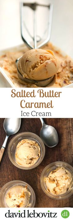 The best Salted Butter Caramel Ice Cream recipe ever! From David Lebovitz, pastry chef & author of The Perfect Scoop, churn up a batch at home.