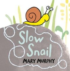 Snail is soooo slow! It takes her all day to slide down her flower, through a boot, under a stick, along a bottle, and in and out of a brick, trailing silver all the way. But when she finally arrives at her vegetable bed, it's worth it — she's just in time for dinner!