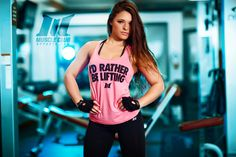 I'd Rather Be Lifting women's racerback $22.99 | Muscle Club Apparel®