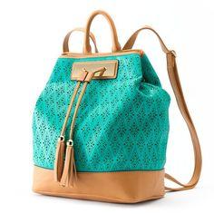 Apt 9 Laser Cut Sling Backpack Blue 48 Liked