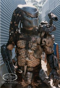 Predator ready to shoot.