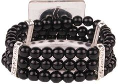 Duchess Flower Bracelet-Midnight | DU1210