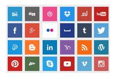 Cómo poner botones de redes sociales en nuestro Blog o Web. Código html