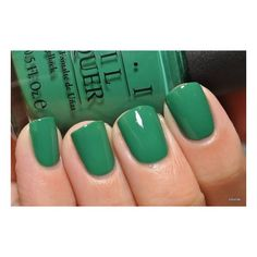 Opi,  It's not easy being green