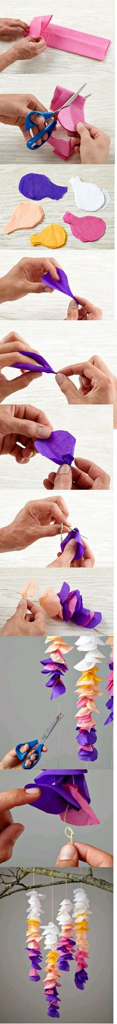 Maria C Sandoval A. – Origami Community : Explore the best and the most trending origami Ideas and easy origami Tutorial Handmade Flowers, Diy Flowers, Fabric Flowers, Diy Paper, Paper Art, Paper Crafts, Diy And Crafts, Arts And Crafts, Tissue Paper Flowers