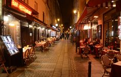 Night out in Contrescarpe, Paris, France : people in the streets by SpirosK photography, via Flickr