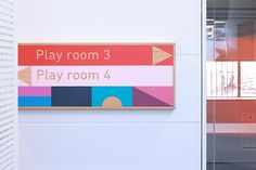 Signage system for Childcare Center by Design by Toko Sydney  Australia