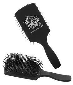 Tail Tamer Long Tooth Mane & Tail Paddle Brush | ChickSaddlery.com