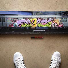 Boogie | elrincondelasboquillas.com Hair Shaver, Samurai Art, Graffiti Art, Art Sketches, Street Art, Inspiration, Graphics, 3d, Street Graffiti