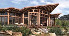 Cascade | Timber Frame Design by Precision Craft
