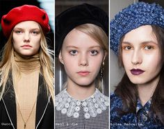 Megztos kepurės Dėl savo patogumo megztos kepurės niekada neišeina iš mados, tuo dizaineriai Dolce & Gabbana, Anna Sui, Agnes B, Markus Lupfer pasinaud