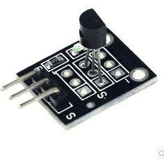 Smart Electronics 10pcs/lot KY-001 3pin DS18B20 Temperature Measurement Sensor Module Diy Starter Kit KY001 #Affiliate