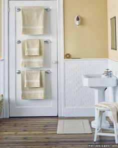 Organize sem frescuras!: Ideias criativas para ganhar mais espaços no banheiro