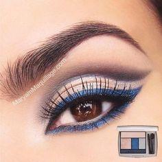 #makeup #navy #eyes #eyemakeup #camillelavie #groupusa