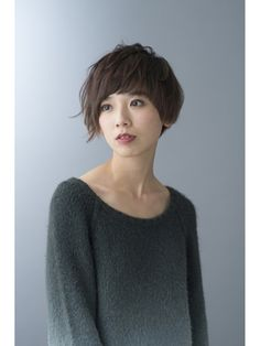 シュープ プラス 尾張一宮駅前ビル アスティ一宮店(SHOOP plus) 大人アシメショート Chic Short Hair, Girl Short Hair, Short Hair Cuts, Short Hairstyles For Women, Pretty Hairstyles, Hair Inspo, Hair Inspiration, Medium Hair Styles, Short Hair Styles
