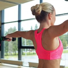 Ready to get rid of that pesky back fat poking out around your bra strap? We've got 13 awesome moves you can do in your own home or at the gym.