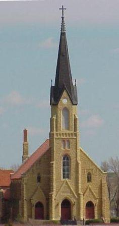 St. Joe Church -- Liebenthal, KS