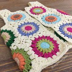 Crochet Coat, Crochet Clothes, Crochet Baby, Hippie Crochet, Baby Skirt, Jackett, Crochet Blanket Patterns, Crochet Flowers, Baby Knitting
