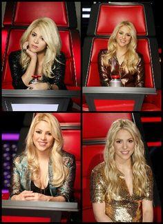 Diferentes días, la misma persona. Shakira