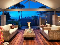 Love the outdoor setting and flooring