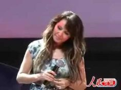 Sarah Brightman You and Me press conference part 2 SD