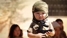 A video purporting to be released by ISIS appears to show a training camp where young children are taught to shoot, fight and kill.