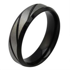 Cheap engagement ring finger size, Buy Quality engage advertising directly from China engagement pendant Suppliers: Size Simple Style Ring Anel Aneis Wedding Black Titanium Steel Mens Womens Unisex Twill Engagement Band His And Her Wedding Rings, Black Wedding Rings, Wedding Rings For Women, Black Rings, Rings For Men, Band Engagement Ring, Wedding Ring Bands, Engagement Jewelry, Stainless Steel Wedding Bands