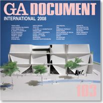 GA DOCUMENT N. 103 International 2008