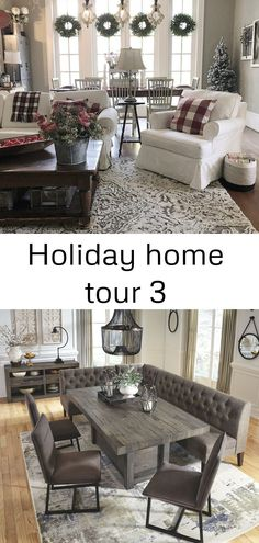 Holiday Home Tour Mayflyn Dining Room Server Charcoal There Are