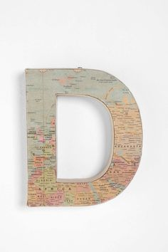 Around the World Letter   Urban Outfitters - $14