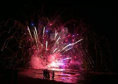 fuochi a mare - water fireworks by nottambulando