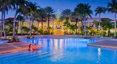 Curacao #Marriott Beach Resort & Emerald Casino ~ #Curaçao #Willemstad