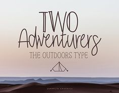 "Check out new work on my @Behance portfolio: ""Two Adventurers Font"" http://be.net/gallery/64392569/Two-Adventurers-Font"